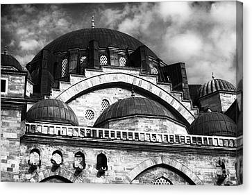 Suleymaniye  Canvas Print by John Rizzuto