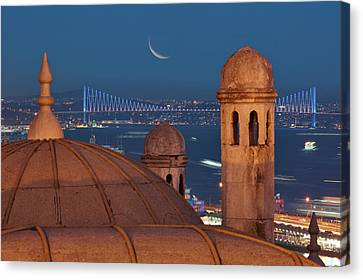 Suleymaniye Canvas Print by Salvator Barki