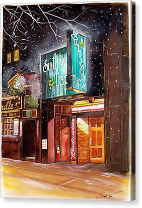 Sullivan's Tap Canvas Print by Dave Olsen