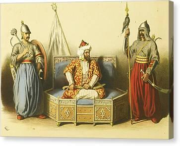 Sultan Mahmoud Canvas Print by MotionAge Designs