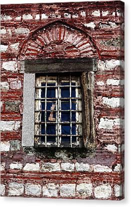 Sultanhmet Canvas Print - Sultan's Window by John Rizzuto
