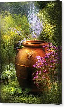 Summer - Landscape - The Urn Canvas Print by Mike Savad