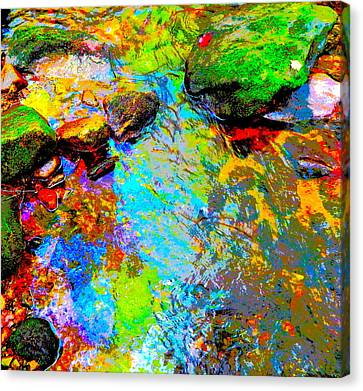Summer 2015 Mix 3 Canvas Print by George Ramos