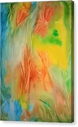 Summer Abstract Mood Canvas Print