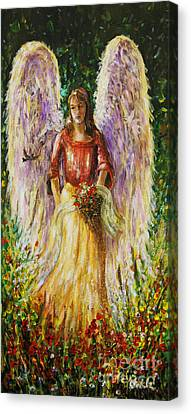 Summer Angel Canvas Print