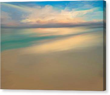 Summer Beach Day  Canvas Print by Anthony Fishburne