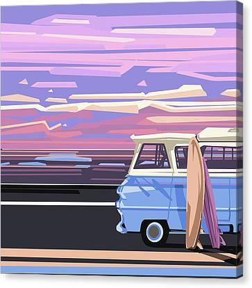 Summer Canvas Print by Bekim Art