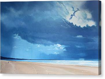 Summer Blues Canvas Print by Paul Newcastle