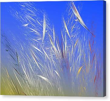 Expressionism Digital Art Canvas Print - Summer Breeze by David Lane
