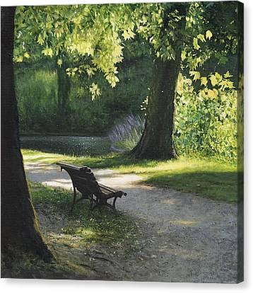 Summer Breeze Canvas Print by Helen Parsley