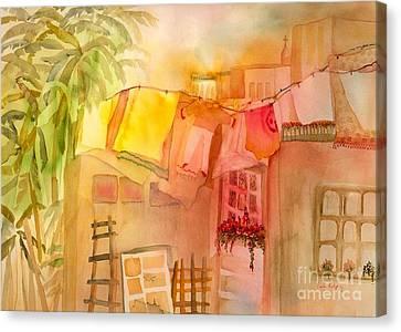 Summer Breeze Canvas Print by Neela Pushparaj
