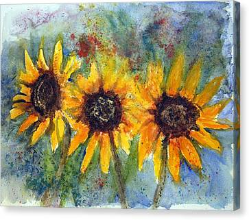 Summer Brilliance Canvas Print