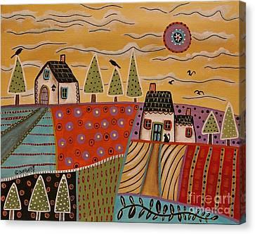 Summer Day 1 Canvas Print