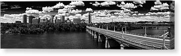 Summer Day In River City Canvas Print