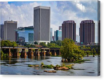 Summer Day In Rva Canvas Print