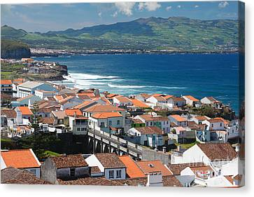 Summer Day In Sao Miguel Canvas Print by Gaspar Avila