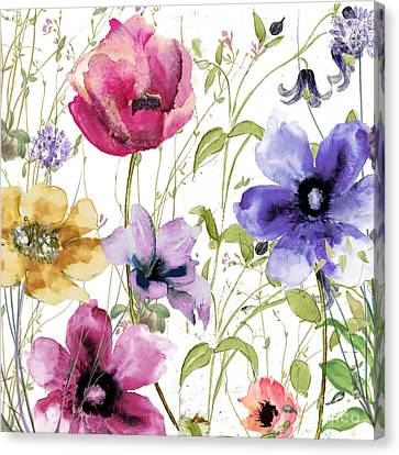 Summer Diary I Canvas Print by Mindy Sommers