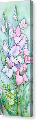 Batik Canvas Print - Summer Dream by Natalya Zaytseva