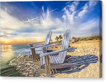 Summer Dreaming Canvas Print by Debra and Dave Vanderlaan