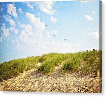 Canvas Print featuring the photograph Summer Dunes by Melanie Alexandra Price