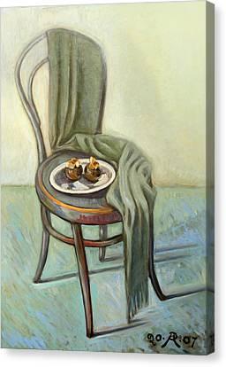 Summer Ending Canvas Print by Raimonda Jatkeviciute-Kasparaviciene