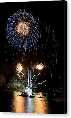 Summer Fireworks I Canvas Print