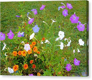 Summer Canvas Print - Summer Flowers 2 by Lanjee Chee