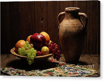 Summer Fruit Canvas Print by Dodie Ulery