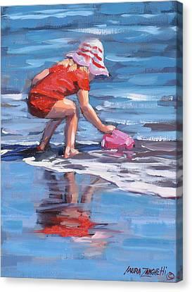 Summer Fun Canvas Print by Laura Lee Zanghetti