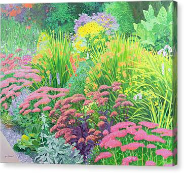 Summer Garden Canvas Print by William Ireland