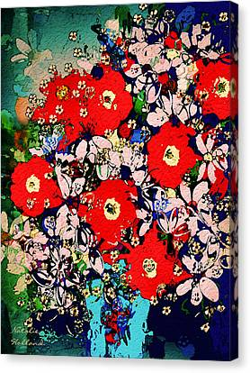 Summer Glory Canvas Print by Natalie Holland