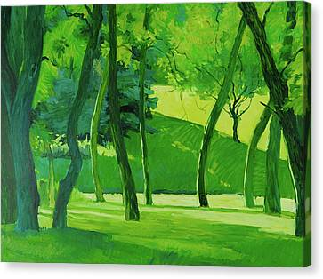 Summer Green Canvas Print