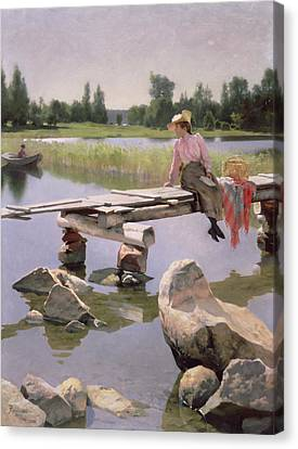 Summer Canvas Print by Gunnar Berndtson