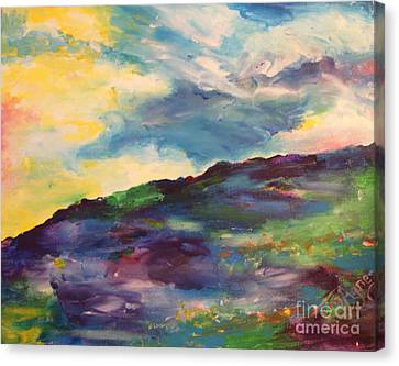 Canvas Print - Summer Hill by Tina Sheppard