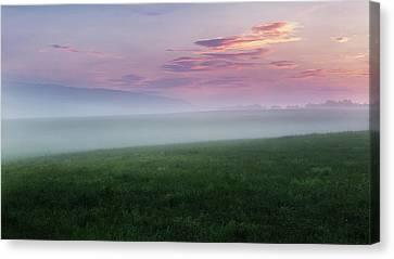 Summer Hills Sunrise Canvas Print