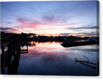 Canvas Print featuring the photograph Summer House by Laura Fasulo