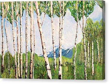 Summer In Alaska Canvas Print