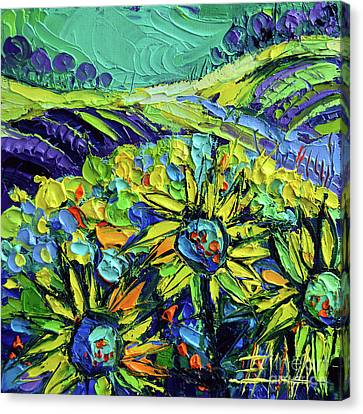 Summer In Provence Canvas Print