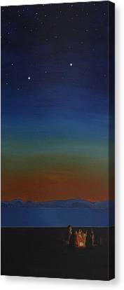 Summer In The Northwest Canvas Print by Jennifer Lynch