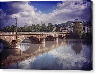 Summer In Turin  Canvas Print