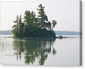 Summer Island Canvas Print by Al Fritz