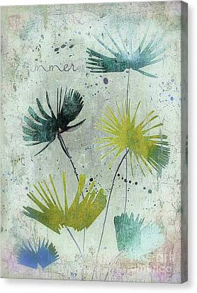 Textured Florals Canvas Print - Summer Joy - 211as by Variance Collections