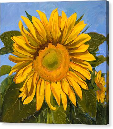 Summer Joy Canvas Print by Billie Colson