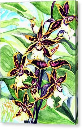 Summer Joy Canvas Print by Hye Ja Billie