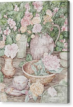 Summer Canvas Print by Kim Tran