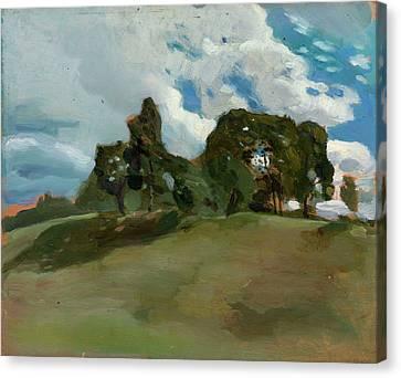 Summer Landscape Canvas Print by Somov