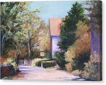Summer Lane Canvas Print