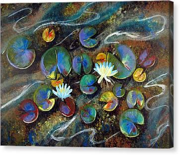 Summer Lillies Canvas Print