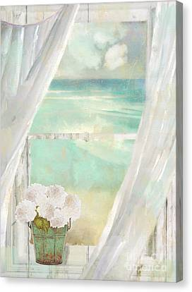 Summer Me Canvas Print by Mindy Sommers