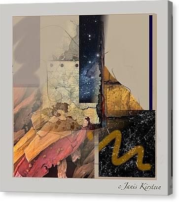 Summer Night 1 Canvas Print by Janis Kirstein